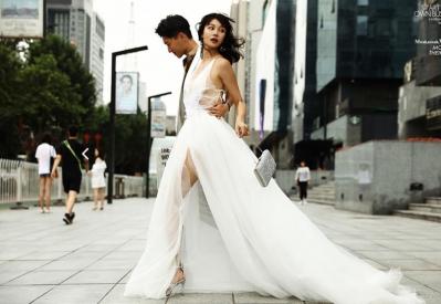 西安米兰婚纱摄影急聘化妆师