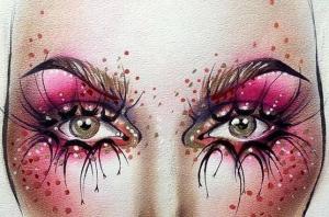 吐血整理!化妆师必藏的近百张美人图!